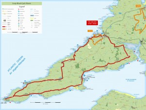 Loop head cycleway map